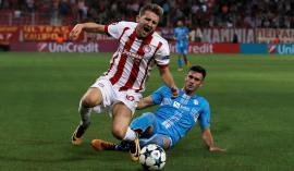 Rečani v ključnih trenutkih drugega polčasa niso več dohajali nogometašev Olympiakosa. Foto: Reuters