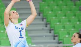 Kapetanka Eva Mori stavi na svežo samozavest slovenskih odbojkaric. Foto: Facebook