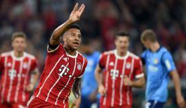 Francoz Corentin Tolisso je odlično začel sezono kot novi vezist nemškega šampiona Bayerna iz Münchna. Foto: AFP