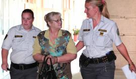 Marija Kamenik je trenutno na odprtem oddelku zapora, tako da ne potrebuje spremstva pravosodnih policistk. Foto: Dejan Javornik