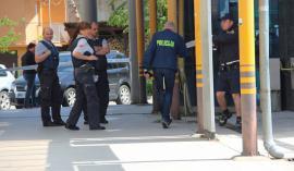 Na prste so jima stopili policisti v Lendavi