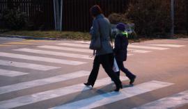 Ženski sta cesto pravilno prečkali na prehodu (fotografija je simbolična). FOTO: Jože Suhadolnik
