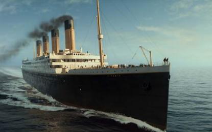 Kmalu bo minilo 105 let od nesreče nepotopljive ladje