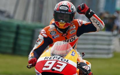 Štiriindvajsetletni Marc Marquez bo letos naskakoval četrti naslov svetovnega prvaka v razredu motoGP