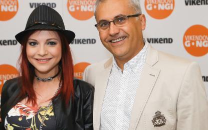 Tanja je pred nekaj dnevi skupaj z menedžerjem Mikijem Šarcem prejela že sedmi gong popularnosti