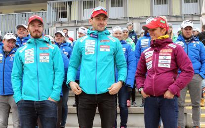 Teja Gregorin in Jakov Fak v novo tekmovalno zimo vstopata nasmejana in optimistična