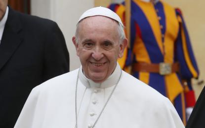 Papež Frančišek ni bil jezen
