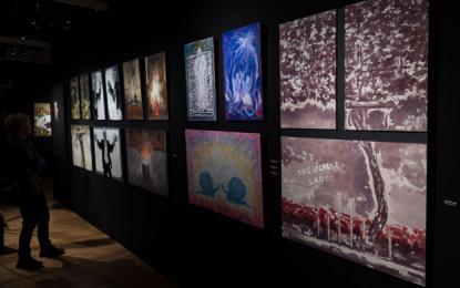 Slovenci spet razstavljamo na večdnevnem odmevnem mednarodnem salonu francoskega Nacionalnega združenja lepih umetnosti.