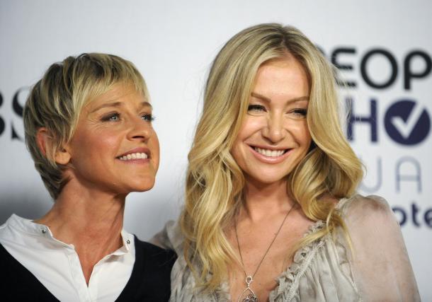 Ellen in Portia v srečnejših časih