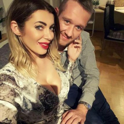 Mirela Lapanović in Andrej Laharnar