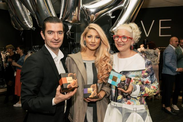 Mojstra sladkarij Rebeka Tratnjek Vučko in Tomislav Tratnjek sta obiskovalce razveselila s sladkimi dobrotami ChocoME