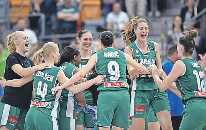 Slovenske košarkarice so z zmago proti Grčiji že izpolnile prvi cilj na eurobasketu