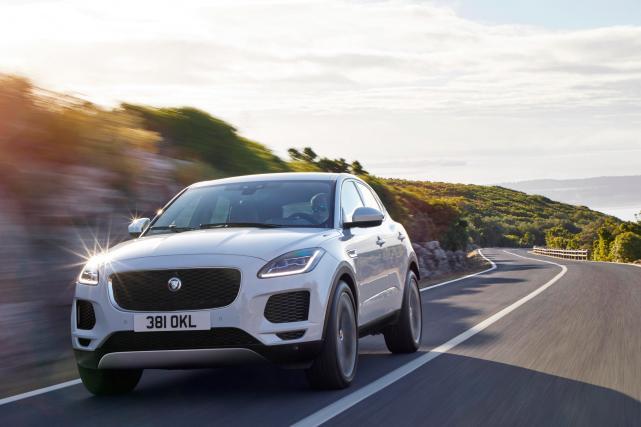 Novi jaguar E-pace bo na ceste zapeljal na začetku prihodnjega leta