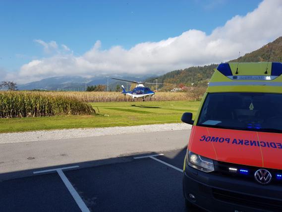 S helikopterjem so jo prepeljali v Maribor, a so bile poškodbe usodne