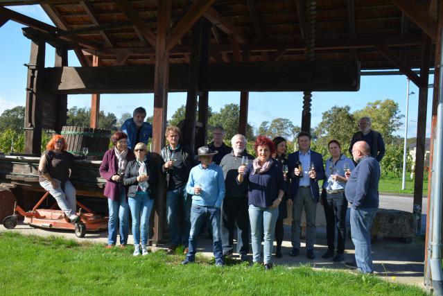 Tri dni so se družili in ustvarjali pri eni najbolj znanih vinogradniških družin