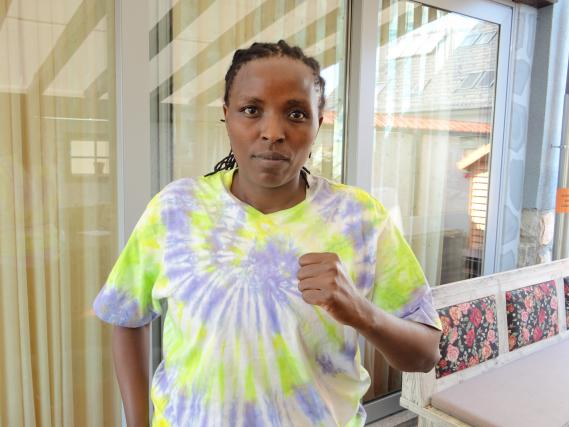 Florence Muthoni je v Slovenijo prišla po zmago