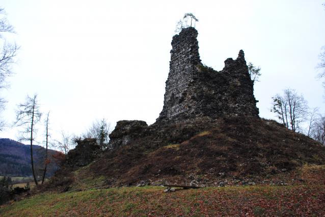 Ostanki enega od stolpov