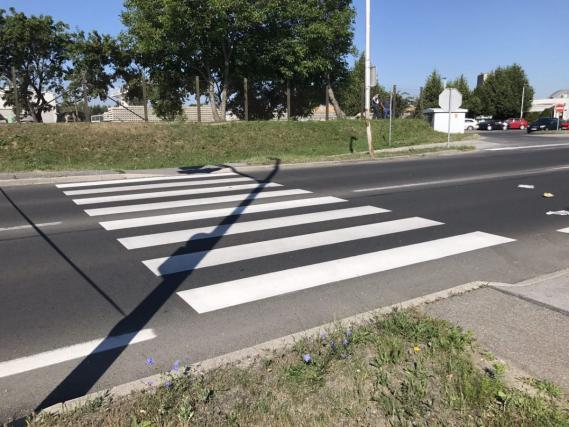 Peška je pravilno prečkala cesto, ko je vanjo trčil voznik avtomobila